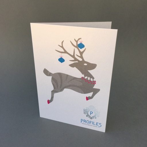 Profiles Christmas card