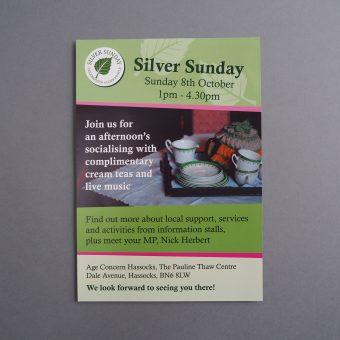 Silver Sunday leaflet