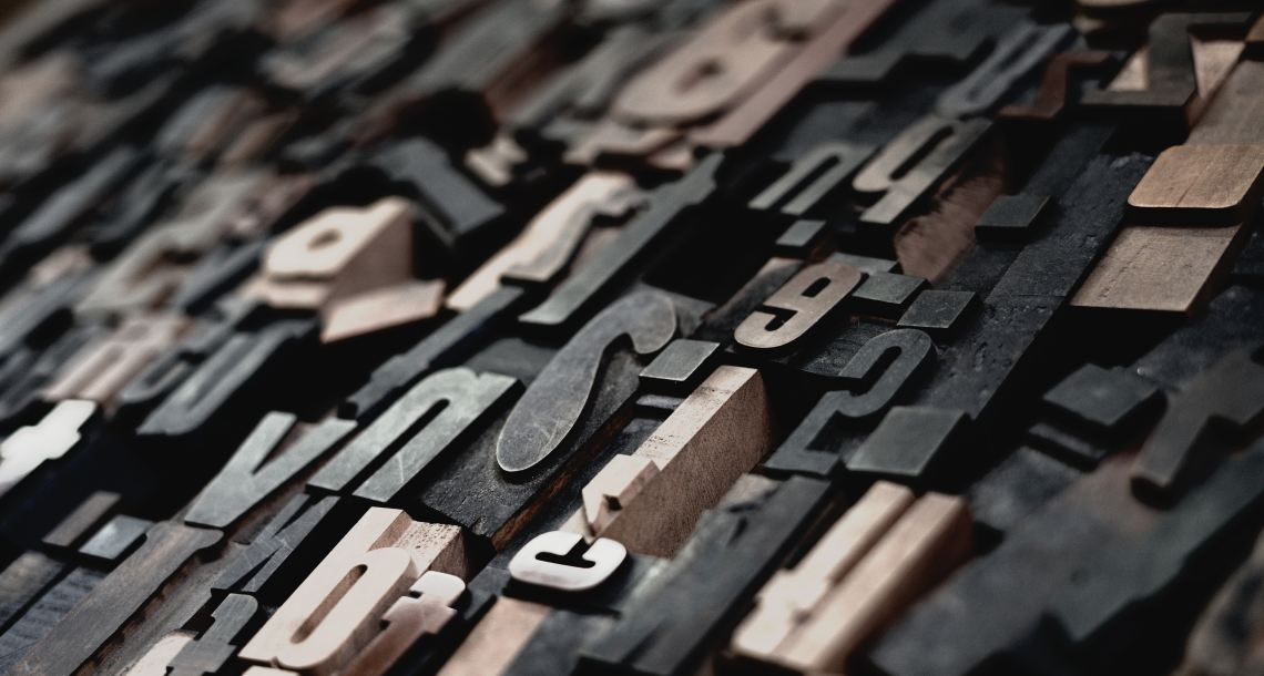 Raphael Schaller Typesetting in wood